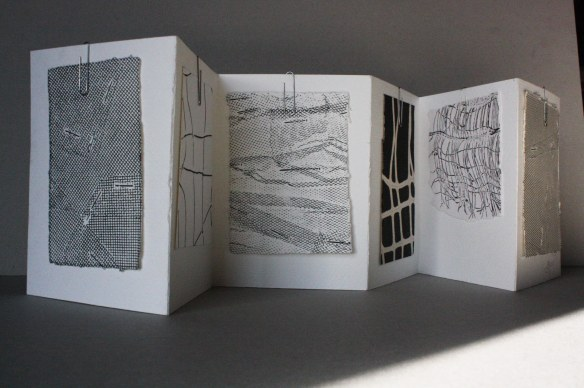 fabric printed book