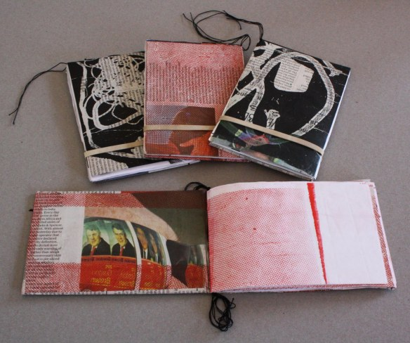 recycled scrap books
